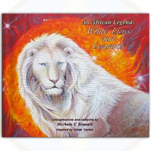 An African Legend - White Lions and Leopards by Michelle Stewart