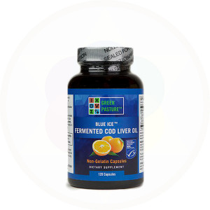 Fermented Cod Liver Oil Oslo Orange Capsules by Green Pasture