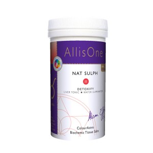 AllisOne Nat Sulph Tissue Salts 180s